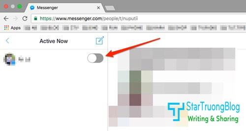 """Trở nên """"vô hình"""" khi online trên Facebook Messenger"""