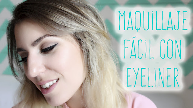 maquillaje fácil con eyeliner
