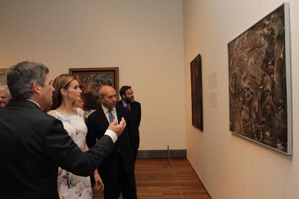 Queen Letizia attended opening of the 'El Greco y La Pintura Moderna' exhibition