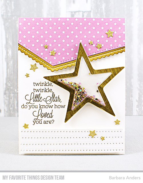 Handmade card from Barbara Anders featuring products from My Favorite Things #mftstamps