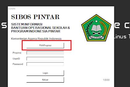Download Aplikasi SIBOS PINTAR Versi Portable (Tanpa Instal)