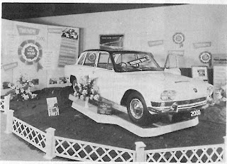 Triumph 2000 display at Stanbourne Motor Co Ltd
