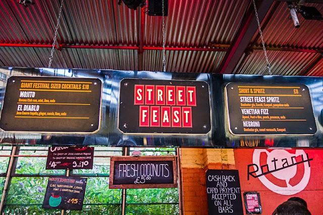 Street Feast em Londres