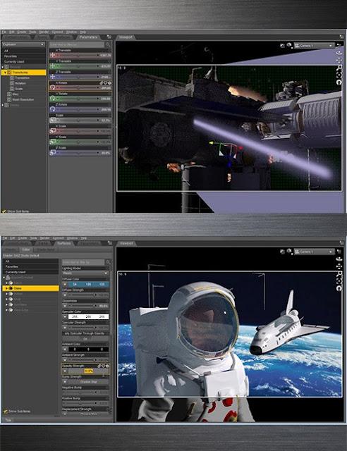 Daz Studio Iray Deep Space Video Tutorial