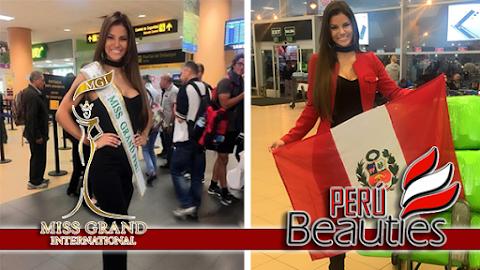 MISS GRAND INTL 2016 | Miss Perú rumbo a Las Vegas