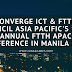 Converge ICT & FTTH Council Asia Pacific's 13th annual FTTH APAC Conference in Manila 2018