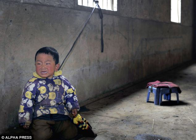 Boddhi Portal Chinese Toddlers Tied Up All Day Because