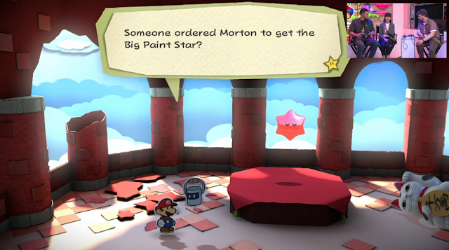 Paper Mario Color Splash Big Paint Star Morton story