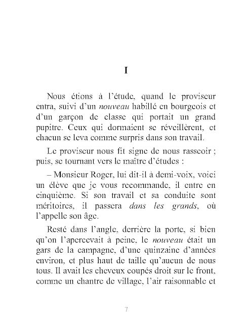 Télécharger Roman Madame Bovary pdf et mp3 de Gustave Flaubert