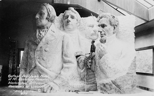 what mount rushmore was supposed to look like before they ran out of funding