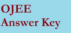 OJEE Answer Key 2021