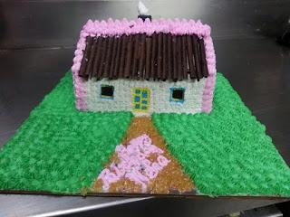 hut cake