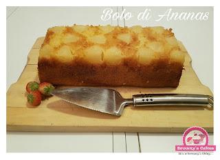 Bolo di Anansa - Ananas taart