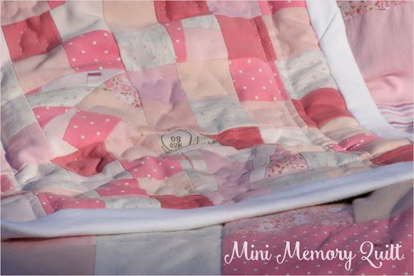 Mini Memory Quilt