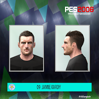 PES 6 Faces Jamie Vardy by El SergioJr