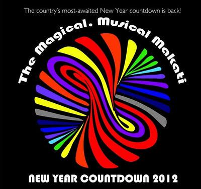 Makati New Year Countdown 2012 celebration