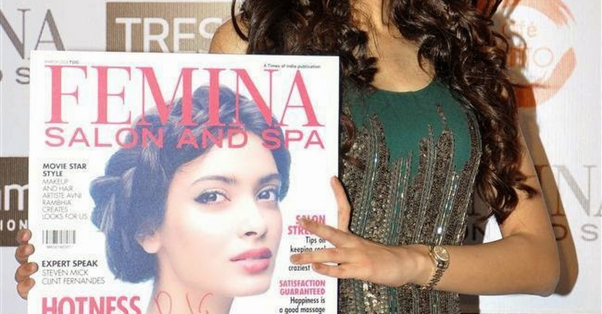 Diana penty at femina salon and spa cover launch 10 pics for W salon and spa