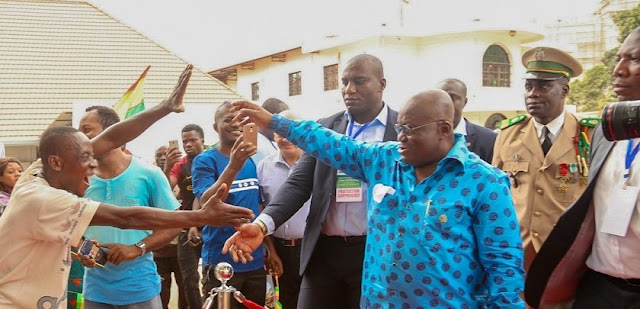 We'll provide jobs for galamseyers – President Akufo-Addo