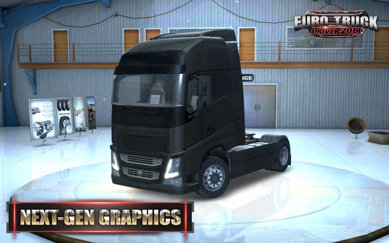 Euro Truck Driver Features: • Having excellent graphics quality and close to reality • Ability to  drive with a variety of European trucks • Realistic simulation of urban environments • Ability to set the camera from the internal/external view • Ability to play online and multiplayer • And many more.