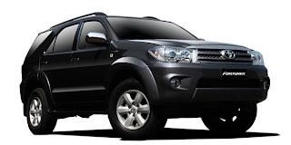Rental Mobil Makassar Fortuner