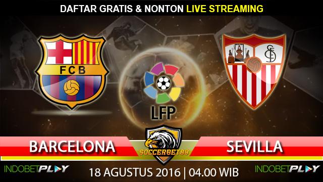Prediksi Barcelona vs Sevilla 18 Agustus 2016 (Spanyol Cup)
