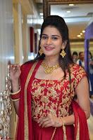 Jenny Honey in Stunning Dark Red Anarkali Dress at Splurge   Divalicious curtain raiser ~ Exclusive Celebrities Galleries 092.JPG