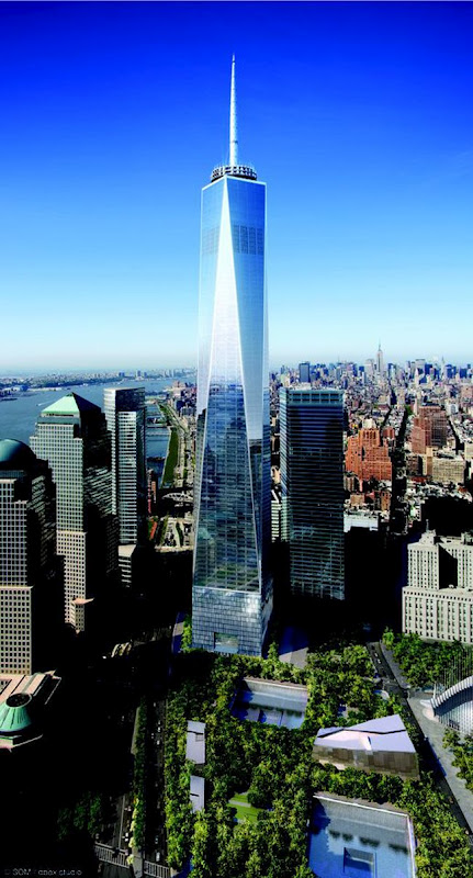 A feast for the eyes!: Rising from ashes - 1 World Trade ...