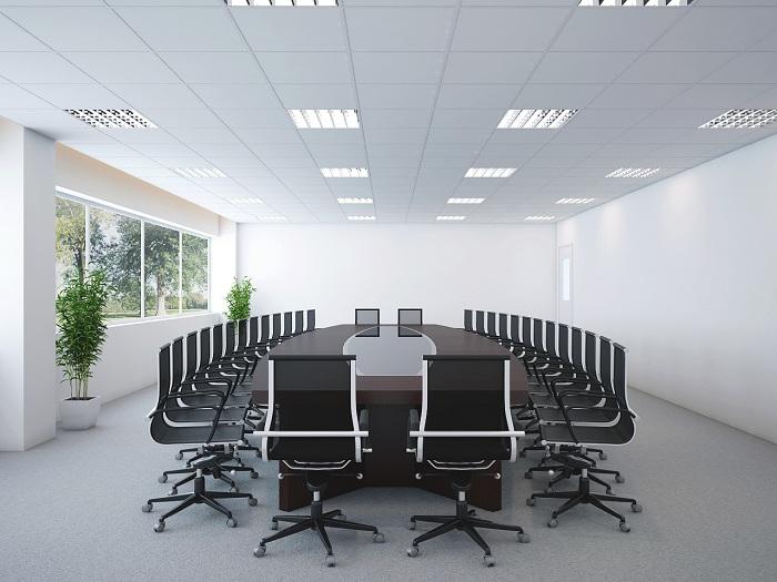 Thiết kế nội thất phòng họp cao cấp, tiện nghi