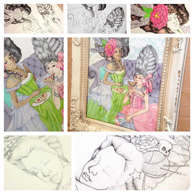 Sketchbook Round-Up: Volume 20 | Yeti Crafts