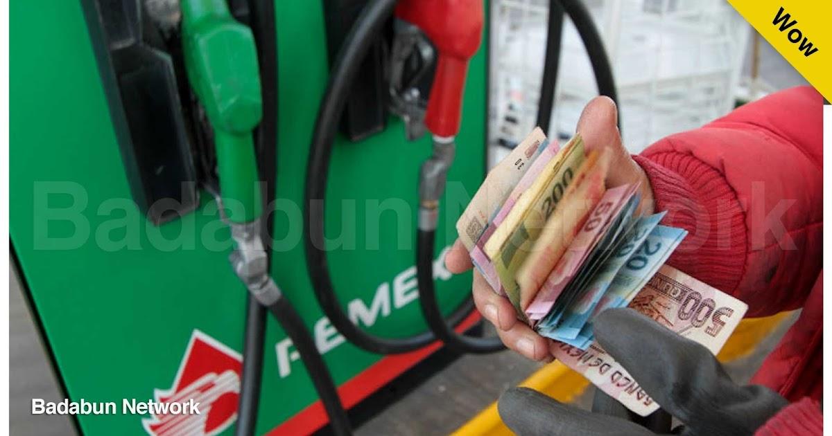 gasolina robo dinero