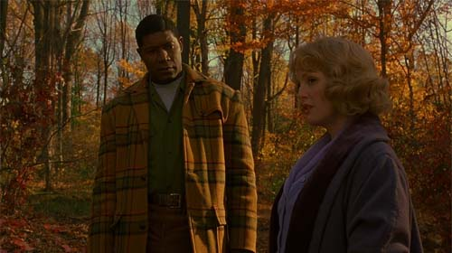 Dennis Haysbert, Julianne Moore in Far From Heaven
