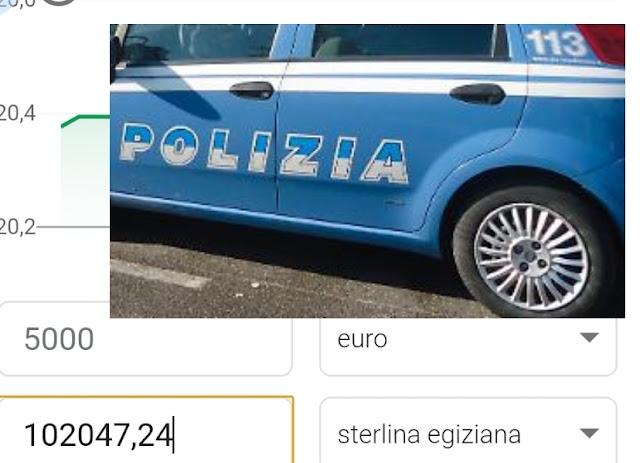 """غرامة ب """"102 الف جنيه"""" حق مهاجر مصري بإيطاليا يقود سيارته بدون رخصة سياقة"""