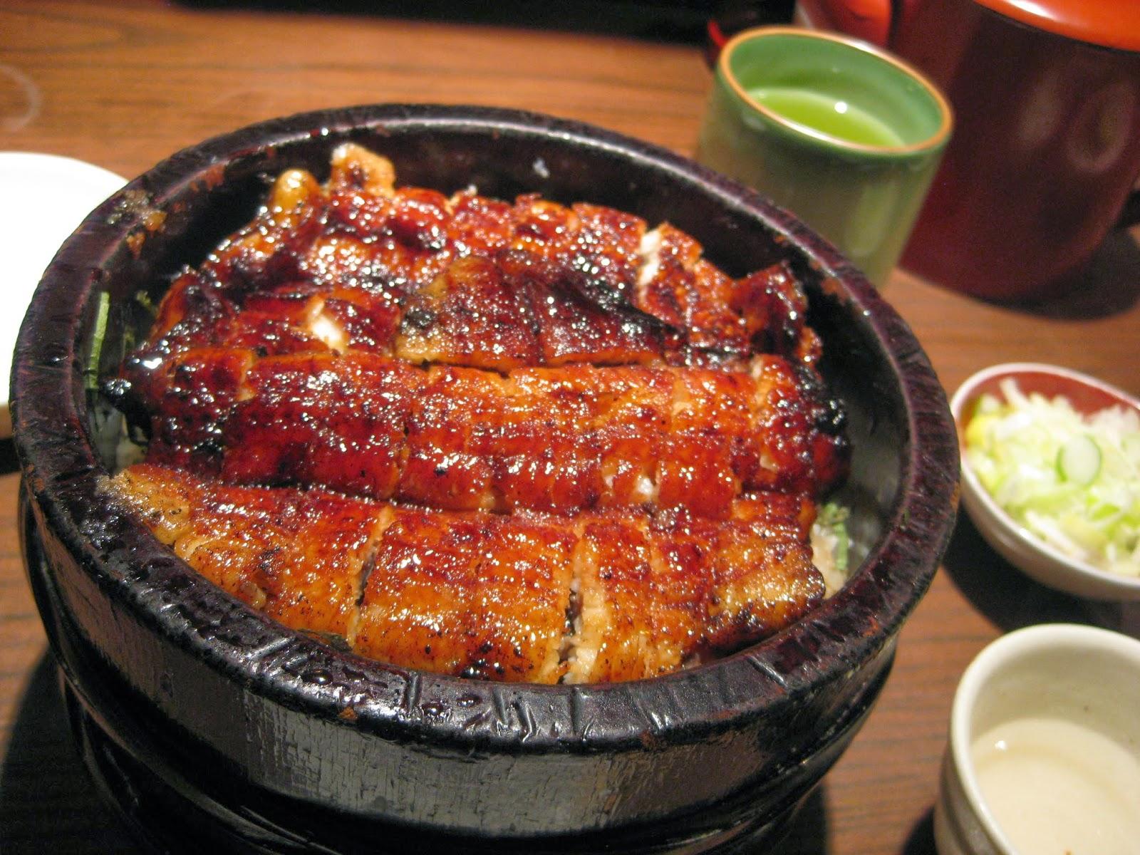 Tokyo - Dinner #2 of grilled unagi, hitsumabushi style