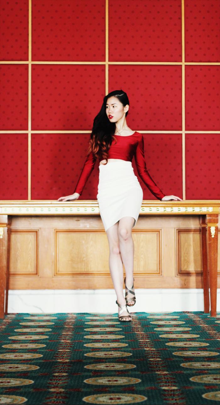 Brunei Fashion Blogger May Cho THEMAYDEN model Christmas festive