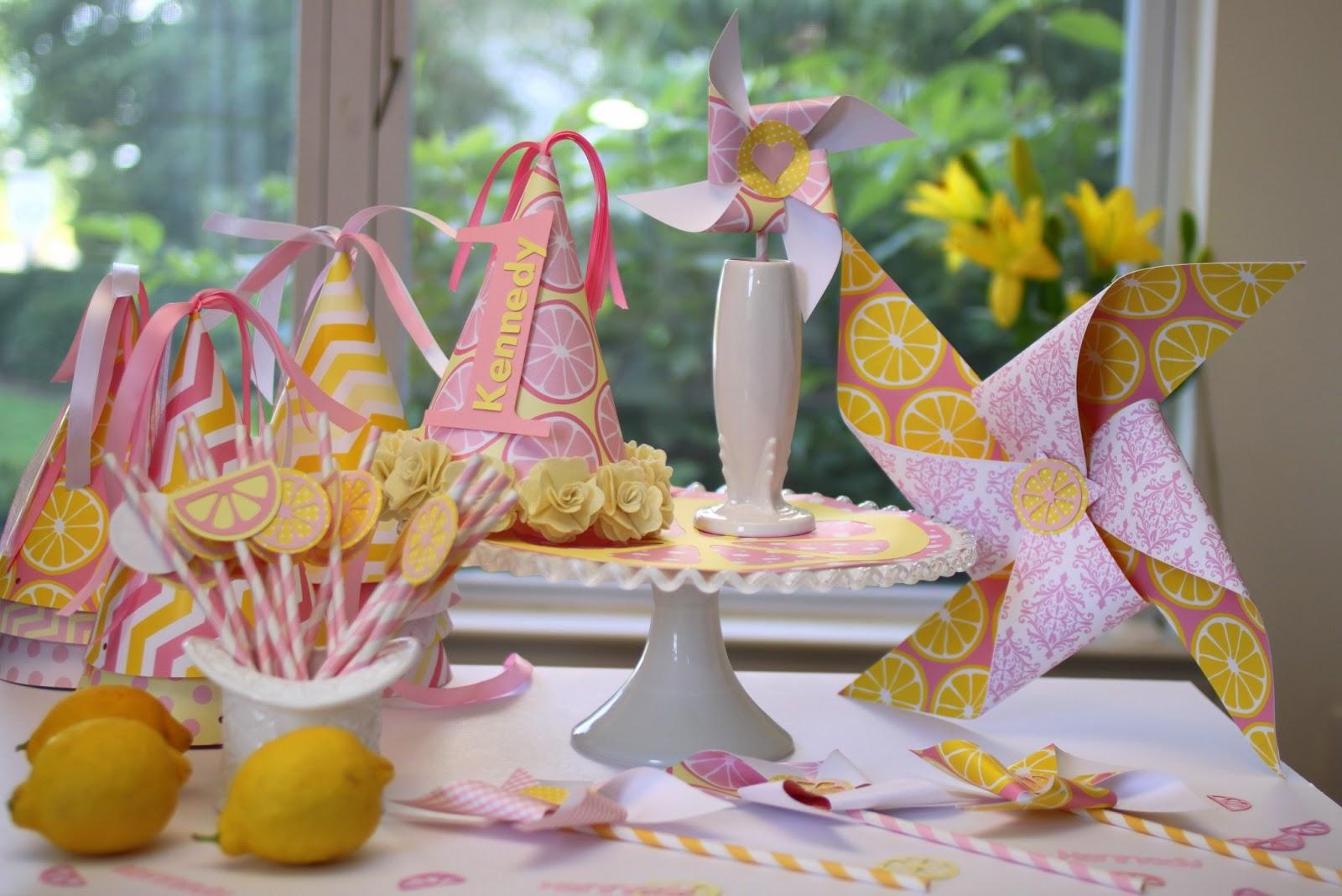 Doo Dah Pink Lemonade 1st Birthday