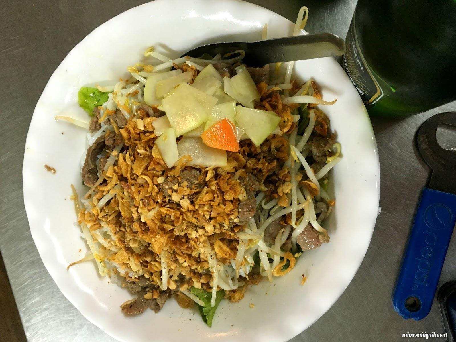 Best Bun Bo Nam Bo Old Quarter Hanoi