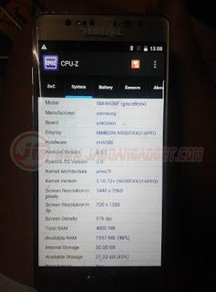 Spesifikasi Samsung Note 7 HDC EDGE