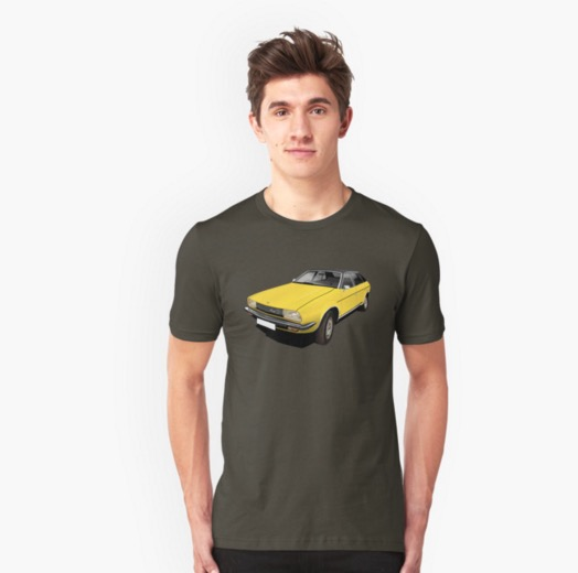 Austin Princess t-shirt yellow redbubble
