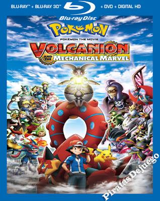 Pokémon: Volcanion Y La Maravilla Mecánica (2016) HD 1080P Latino