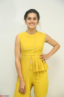 Taapsee Pannu looks mesmerizing in Yellow for her Telugu Movie Anando hma motion poster launch ~  Exclusive 126.JPG