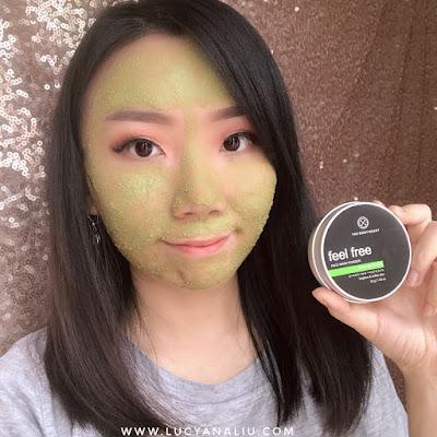 The Body Heart Feel Free Face Mask Powder