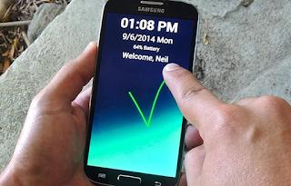 فتح قفل هاتفك بدون نمط او pin بطريقه ذكية