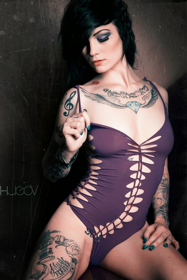 Crae Diamond - Female Models With Tattoos