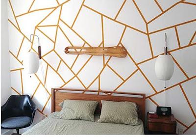 formas creativas de pintar el dormitorio juvenil