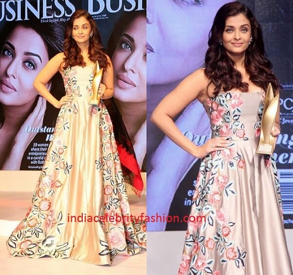 Aishwarya Rai in Manish Malhotra Gown