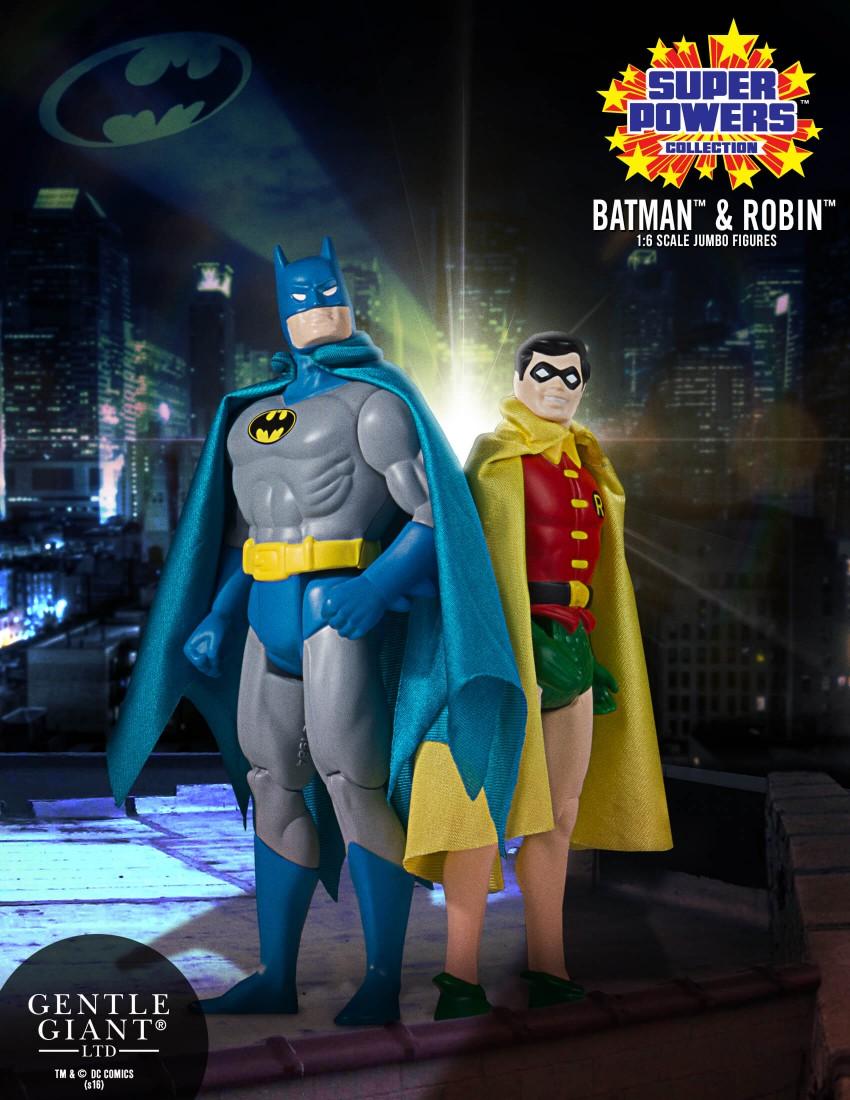 Vintage batman action figures