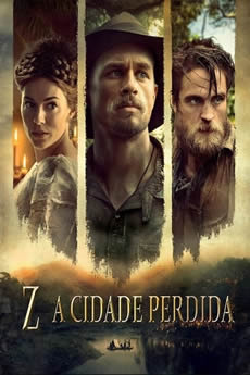 Capa Z: A Cidade Perdida Torrent – Bluray 720p | 1080p Dual Áudio (2017) Download