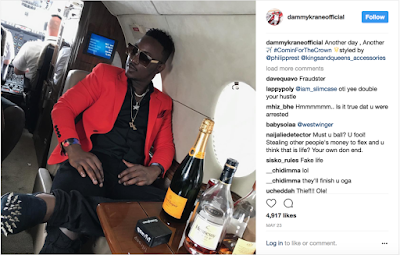 More Trouble, As Tapjets Vows To Prosecute singer  Dammy Krane