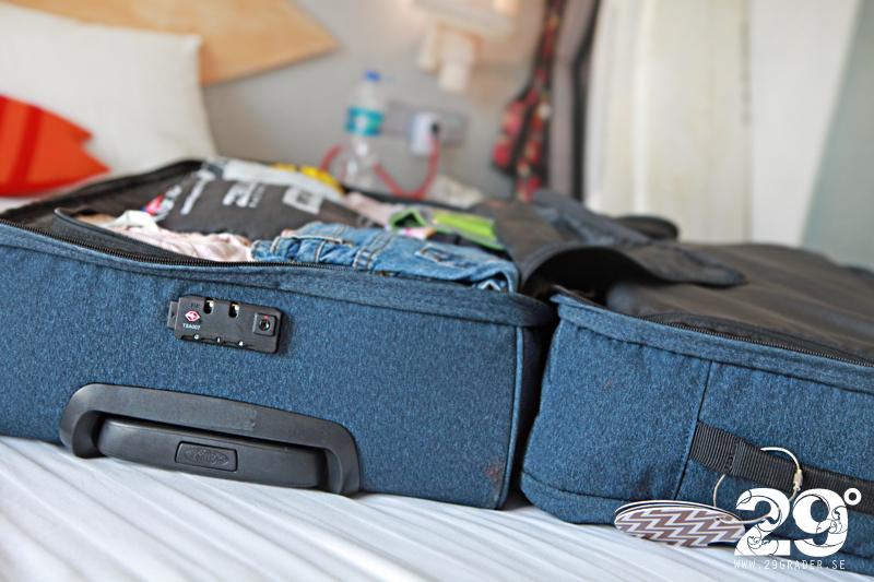29 GRADER: Kriterier som utgör en bra resväska