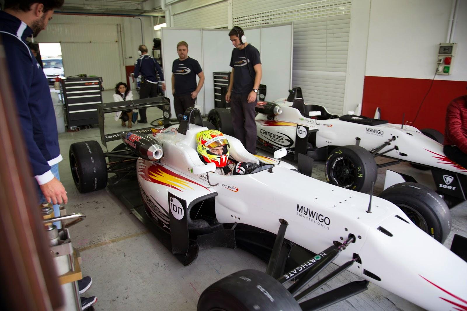 F3, F1, Formula 1, EuroFormula Open, Spain, Valencia, Cheste